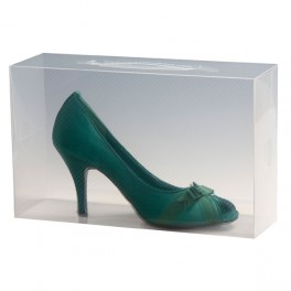 Ladies Stackable Transparent Shoe Storage Box